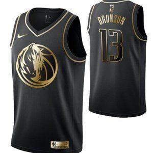 Dallas Mavericks #13Jalen Brunson  Swingman Jersey